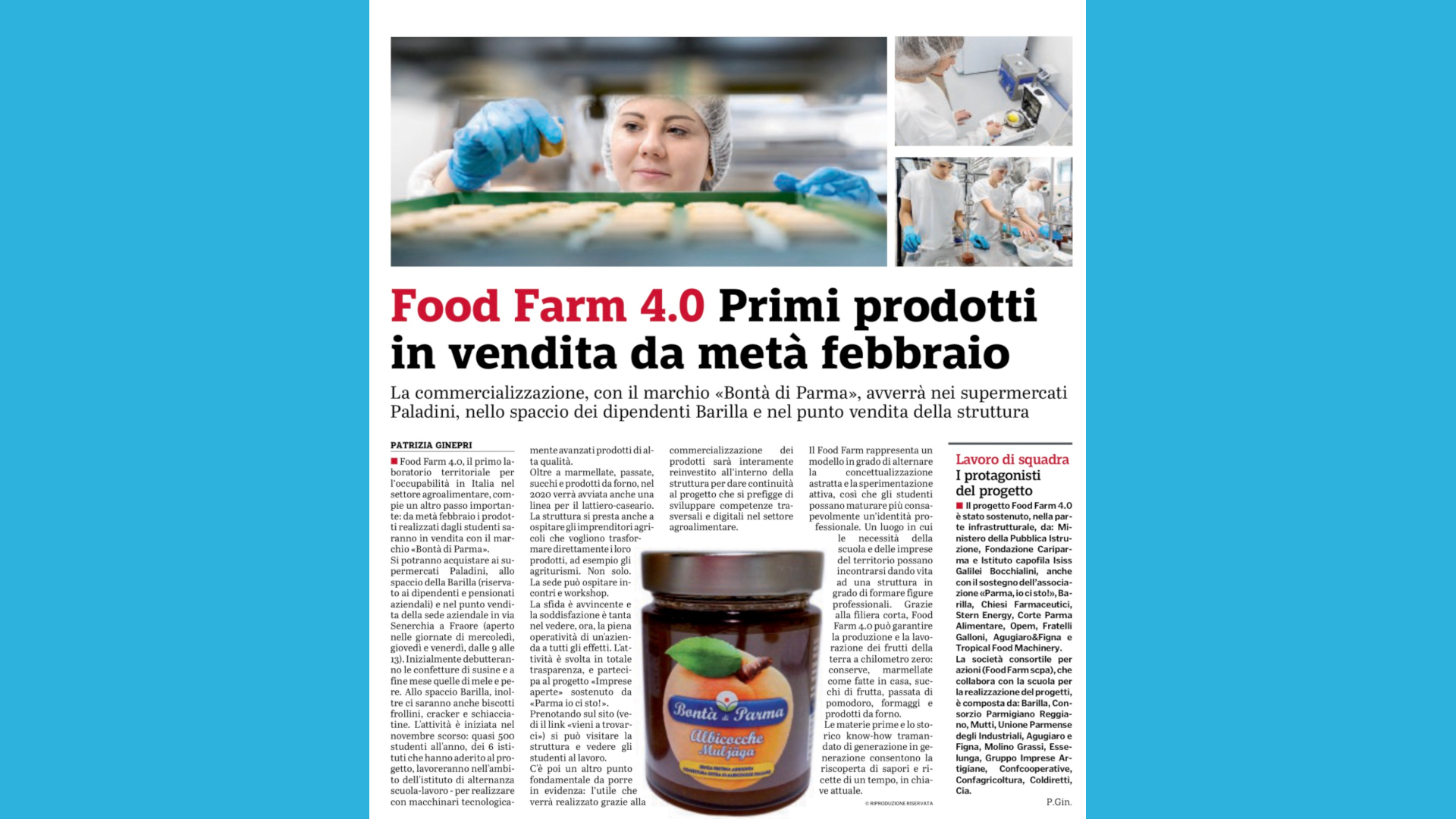 Vendita Prodotti Food Farm 4.0
